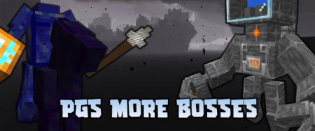 Скачать PGs More Bosses для Minecraft 1.16.4