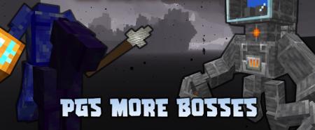 Скачать PGs More Bosses для Minecraft 1.16.5