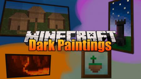 Скачать Dark Paintings для Minecraft 1.17