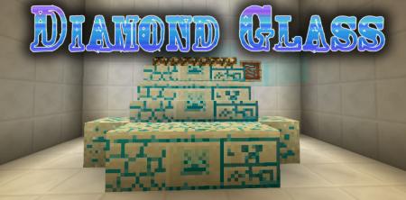 Скачать Diamond Glass для Minecraft 1.17.1