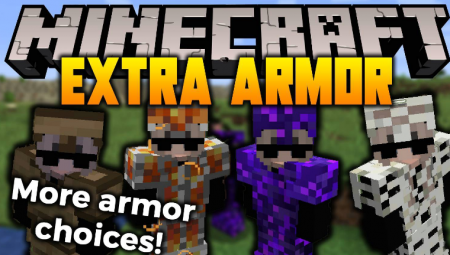 Скачать Extra Armor для Minecraft 1.17.1