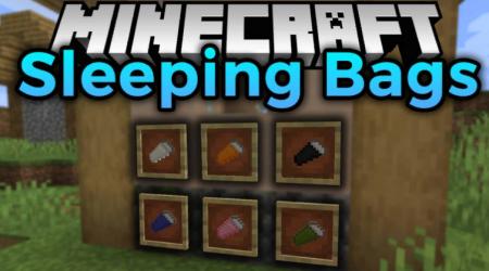 Скачать Sleeping Bags для Minecraft 1.17