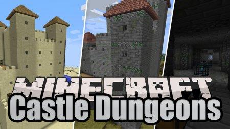 Скачать Castle Dungeons для Minecraft 1.17
