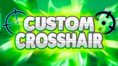 Скачать Custom Crosshair для Minecraft 1.17.1