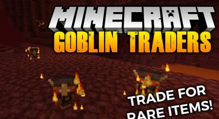 Скачать MrCrayfish's Goblin Traders для Minecraft 1.17