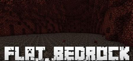 Скачать Flat Bedrock для Minecraft 1.17.1
