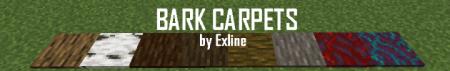 Скачать Bark Carpets для Minecraft 1.17