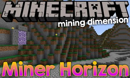 Скачать Miner's Horizon для Minecraft 1.17.1