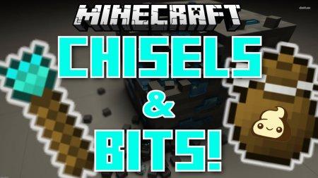 Скачать Chisels & Bits для Minecraft 1.16.5
