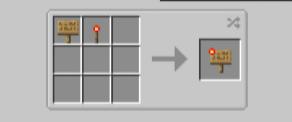 Скачать Sign Button для Minecraft 1.17.1