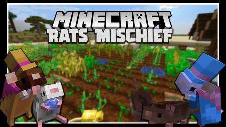 Скачать Rats Mischief для Minecraft 1.16