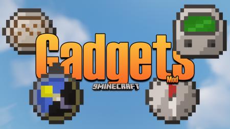 Скачать Gadgets для Minecraft 1.16.5