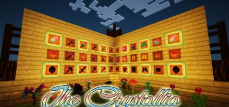 Скачать The Crystallia для Minecraft 1.12