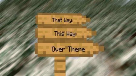 Скачать Signpost для Minecraft 1.17.1