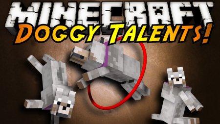 Скачать Doggy Talents для Minecraft 1.17.1