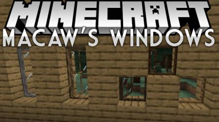 Скачать Macaw's Windows для Minecraft 1.16
