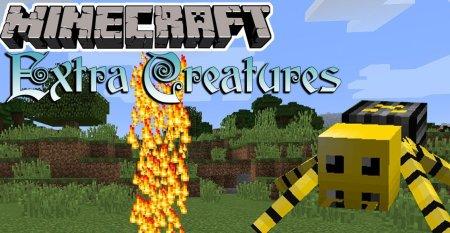 Скачать Extra Creatures для Minecraft 1.12